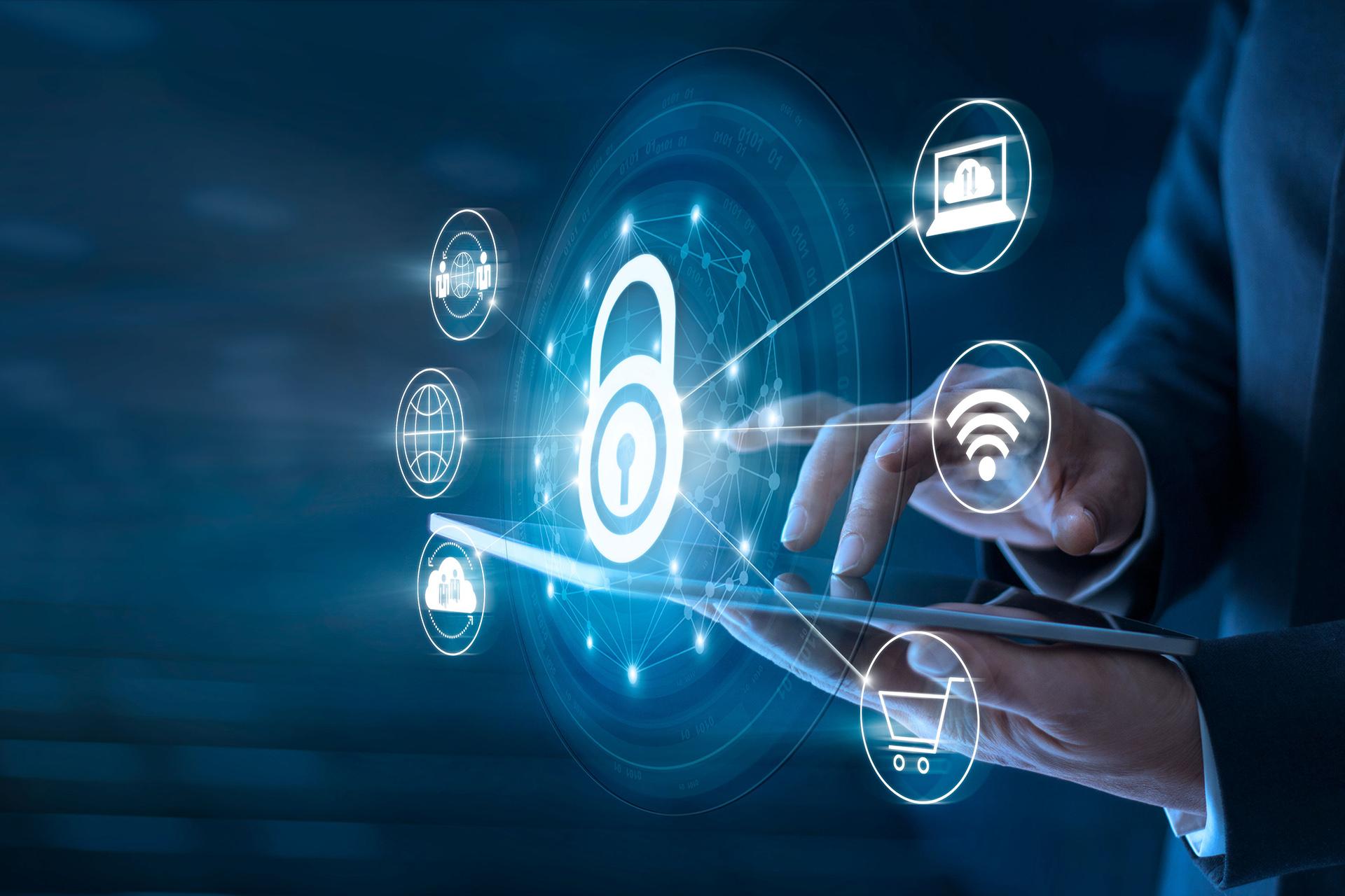 Generic image symbolizing cybersecurity
