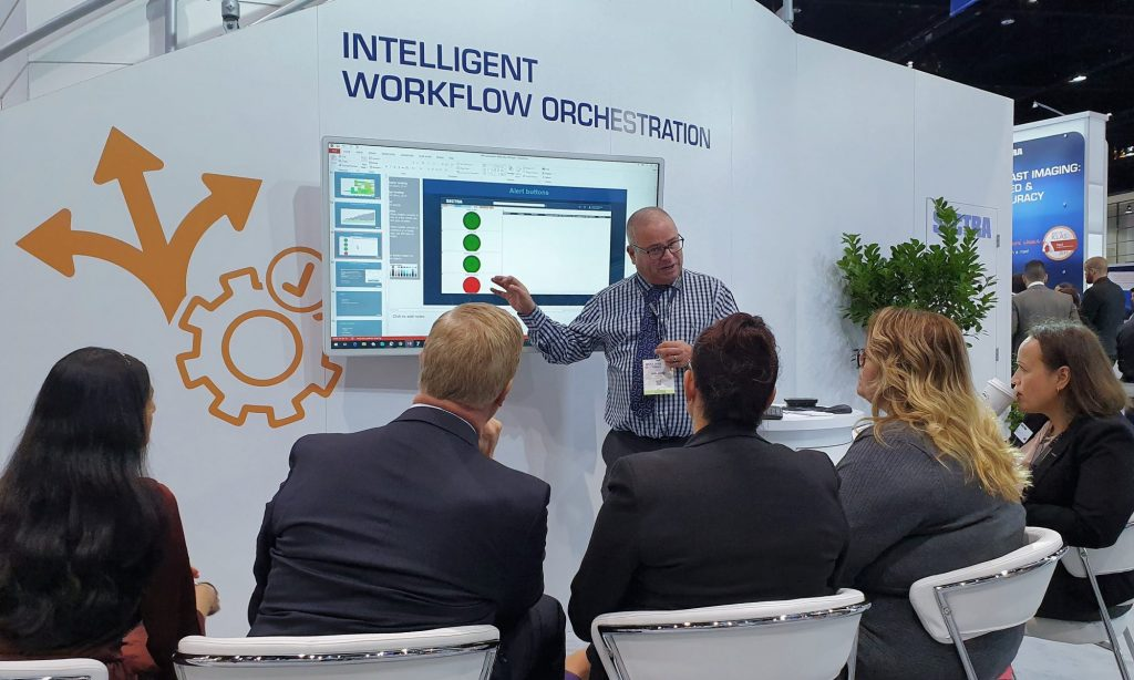 Sectra workflow orchestration demo at RSNA 2019