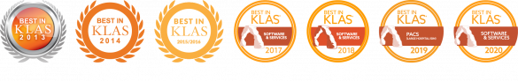 Sectra PACS Best in KLAS for seven consecutive years, 2013–2020
