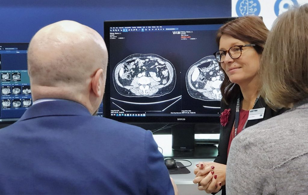 Sectra radiology demo at RSNA 2019