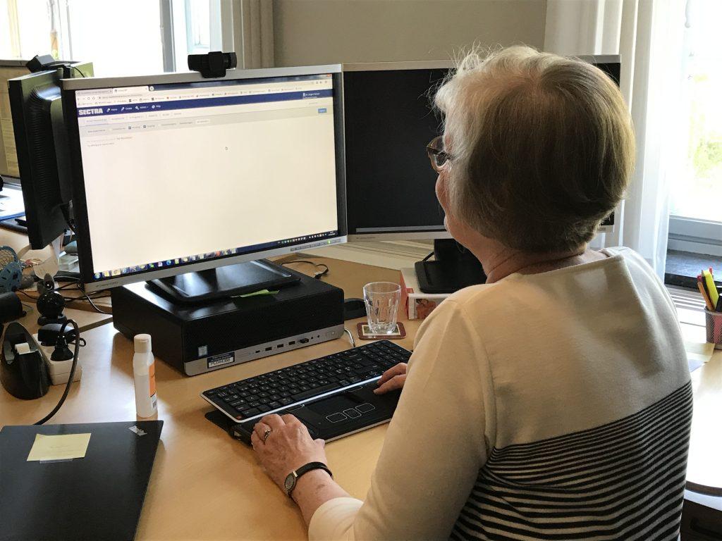 Susanne Mark, afdelingsledelsessekretær, Hillerød Hospital
