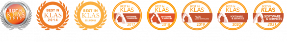 Sectra PACS Best in KLAS for eight consecutive years, 2013–2021